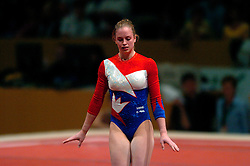 28-04-2004 TURNEN: EUROPEES KAMPIOENSCHAP DAMES: AMSTERDAM<br /> Suzanne Harmes plaatst zich voor de Olympische Spelen - OS Athene<br /> ©2004-www.fotohoogendoorn.nl
