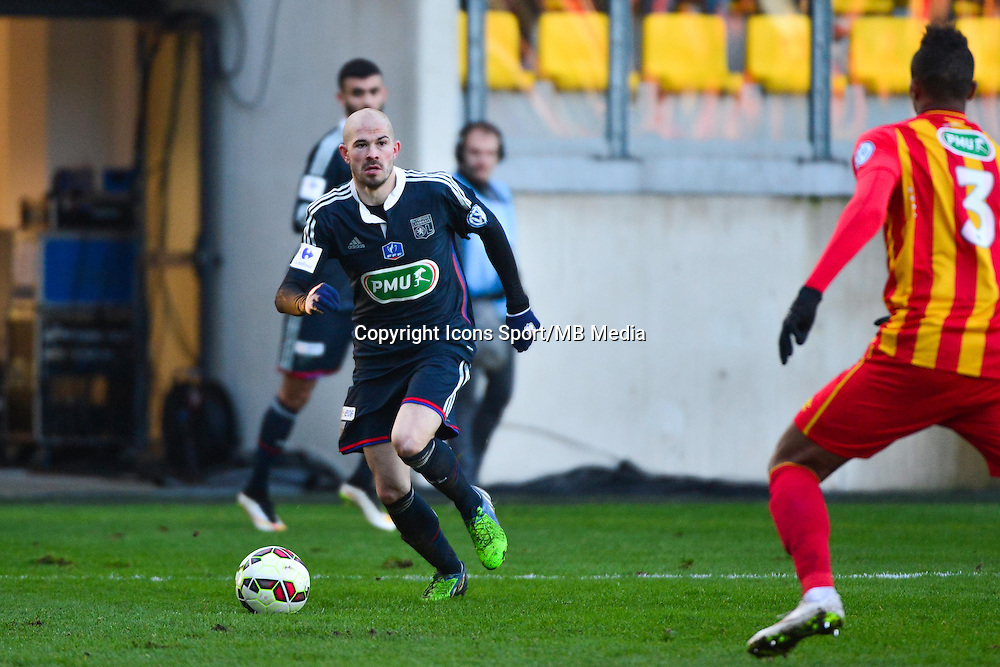 Christophe JALLET - 04.01.2014 - Lens / Lyon - Coupe de France<br />