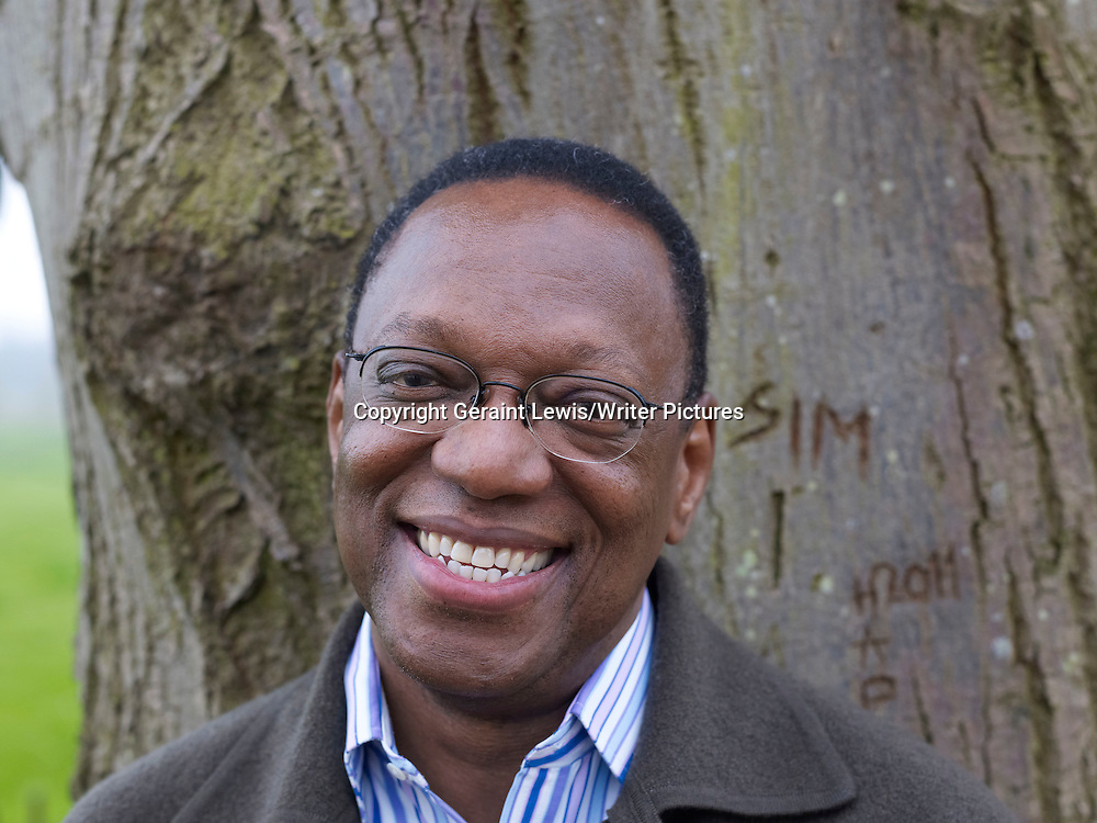 Alvin Hall, Financial Guru, broadcaster and writer at The Oxford Literary Festival at Christchurch College Oxford. Taken 30th March 2012<br /> <br /> Credit Geraint Lewis/Writer Pictures<br /> <br /> WORLD RIGHTS