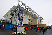 Bill Bremner statue outside Elland Road Stadium during the EFL Sky Bet Championship match between Leeds United and Millwall at Elland Road, Leeds, England on 20 January 2018. Photo by Craig Zadoroznyj.