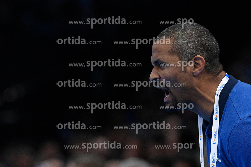 Guillaume Gille (french coach) during 25th IHF men's world championship 2017 match between France and Slovenia at Accord hotel Arena on january 26 2017 in Paris. France. PHOTO: CHRISTOPHE SAIDI / SIPA / Sportida