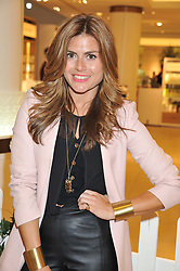 ZOE HARDMAN at the launch of the new John Lewis Beauty Hall, John Lewis, Oxford Street, London on 8th May 2012.