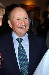 Propert tycoon DONALD GORDON at a Conservative Party Reception for the Art held at 24 Thurloe Square, Lndon SW7 on 5th April 2005.<br /><br />NON EXCLUSIVE - WORLD RIGHTS