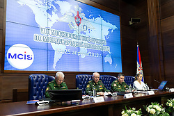 March 21, 2019 - More than 1 thousand delegates from 101 countries, including more than 30 Ministers of defence will take part in VIII Moscow conference on international security, which will take place April 23-25   MOD Russia via globallookpress.com (Credit Image: © Russian Look via ZUMA Wire)
