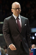DALLAS, TX - JANUARY 7: Cincinnati Bearcats head coach Mick Cronin looks on against the SMU Mustangs on January 7, 2016 at Moody Coliseum in Dallas, Texas.  (Photo by Cooper Neill/Getty Images) *** Local Caption *** Mick Cronin