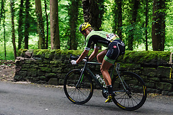 Alison Tetrick (Cylance Pro Cycling) at Aviva Women's Tour 2016 - Stage 3. A 109.6 km road race from Ashbourne to Chesterfield, UK on June 17th 2016.