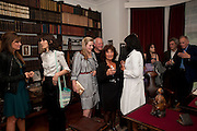 LISA APPIGNANESE; , Freud Museum dinner, Maresfield Gardens. 16 June 2011. <br /> <br />  , -DO NOT ARCHIVE-© Copyright Photograph by Dafydd Jones. 248 Clapham Rd. London SW9 0PZ. Tel 0207 820 0771. www.dafjones.com.