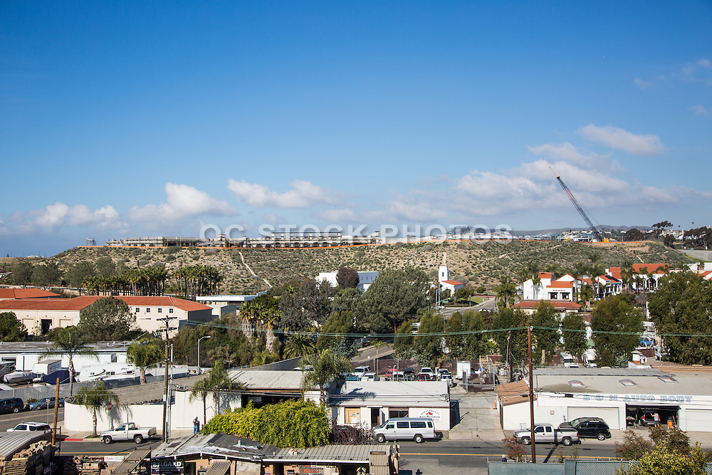 Outlet Mall in San Clemente Under Construction