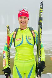 Teja Gregorin during media day of Slovenian biathlon team before new season 2013/14 on November 14, 2013 in Rudno polje, Pokljuka, Slovenia. Photo by Vid Ponikvar / Sportida