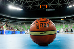 Ball during basketball match between National teams of Slovenia and France in Quarterfinal Match of U20 Men European Championship Slovenia 2012, on July 20, 2012 in SRC Stozice, Ljubljana, Slovenia. (Photo by Matic Klansek Velej / Sportida.com)