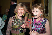 CATHERINE WARREN; KATHARINE RAYNER, An exhibition of watercolours by William Rayner at Mallet's, New Bond St. Party afterwards at Bellami's, bruton Place. London. 16 June 2010. .-DO NOT ARCHIVE-© Copyright Photograph by Dafydd Jones. 248 Clapham Rd. London SW9 0PZ. Tel 0207 820 0771. www.dafjones.com.