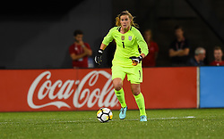 September 19, 2017 - Cincinnati, OH, USA - Cincinnati, OH - Tuesday September 19, 2017: Alyssa Naeher during an International friendly match between the women's National teams of the United States (USA) and New Zealand (NZL) at Nippert Stadium. (Credit Image: © Brad Smith/ISIPhotos via ZUMA Wire)