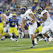 West Chester Running Back Rondell White (24) carries the ball for 20 yards and a first down during a Week 1 NCAA football game against Delaware in the first quarter Thursday, Aug. 30, 2012. at Delaware Stadium in Newark Delaware...Delaware will return home Sept. 8, 2012 for a showdown with interstate Rival Delaware State at Delaware Stadium..