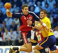 Håndball, 2. januar 2003, EM kvalifisering herrer, Norge - Romania. Glenn Solberg , Norge