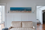 Main Beach, Canvas Print 20x99