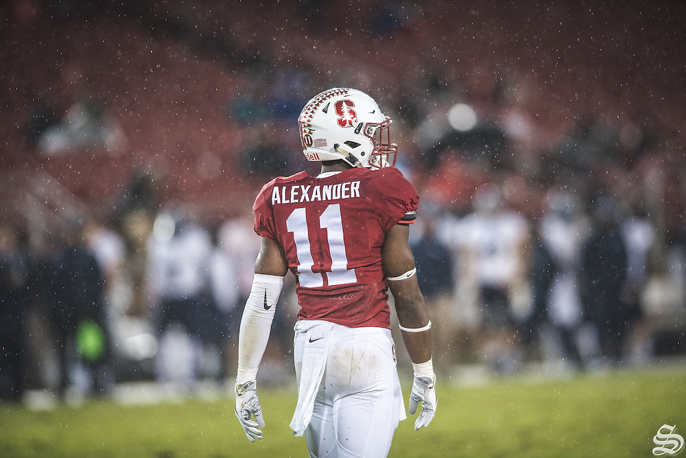 CB Terrence Alexander #11 vs. Rice on November 27, 2016 at Stanford Stadium, Stanford, CA. Photo by Ryan Jae