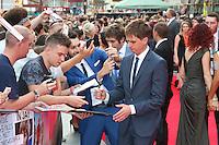 Joe Thomas, The Inbetweeners 2 - World Film Premiere, Leicester Square, London UK, 05 August 2014, Photo by Richard Goldschmidt