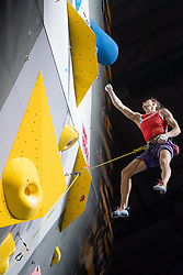 08.09.2018, Kletterzentrum, Innsbruck, AUT, IFSC, Kletter WM Innsbruck 2018, Halbfinale, Damen, Vorstieg, im Bild Ekaterina Kipriianova (RUS) // Ekaterina Kipriianova of Russian Federation during Semi-Finals of Women Lead for the IFSC Climbing World Championships 2018 at the Kletterzentrum in Innsbruck, Austria on 2018/09/08. EXPA Pictures © 2018, PhotoCredit: EXPA/ Johann Groder