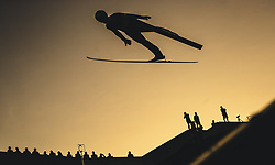 29.09.2018, Energie AG Skisprung Arena, Hinzenbach, AUT, FIS Ski Sprung, Sommer Grand Prix, Hinzenbach, im Bild Michael Hayboeck (AUT) // Michael Hayboeck of Austria during FIS Ski Jumping Summer Grand Prix at the Energie AG Skisprung Arena, Hinzenbach, Austria on 2018/09/29. EXPA Pictures © 2018, PhotoCredit: EXPA/ JFK