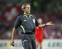 Fussball International Laenderspiel Schweiz 2-0 Costa Rica Schiedsrichter Dick Van Egmond (NED)