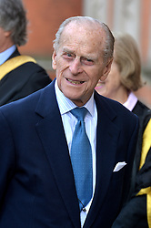 The Queen and Duke Of Edinburgh (pictured) arrives at Royal Holloway University, Egham, UK, for a royal visit.<br /> Friday, 14th March 2014. Picture by Ben Stevens / i-Images