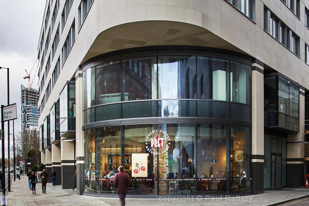 Eagle House apartments, London. Developer Mount Anvil, architects Terry Farrell