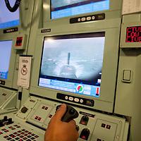 01/07/2010 Kyle of Lochalsh, Scotland - HMS Astute submarine