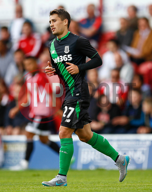 Bojan Krkic of Stoke City - Mandatory by-line: Jason Brown/JMP - Mobile 07966 386802 25/07/2015 - SPORT - FOOTBALL - Brentford, Griffin Park - Brentford v Stoke City - Pre-Season Friendly