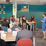 Images from the 2014 GTSC Probabtion Event.Jackie Brock (Chief Executive of Children First) addresses the nominees.
