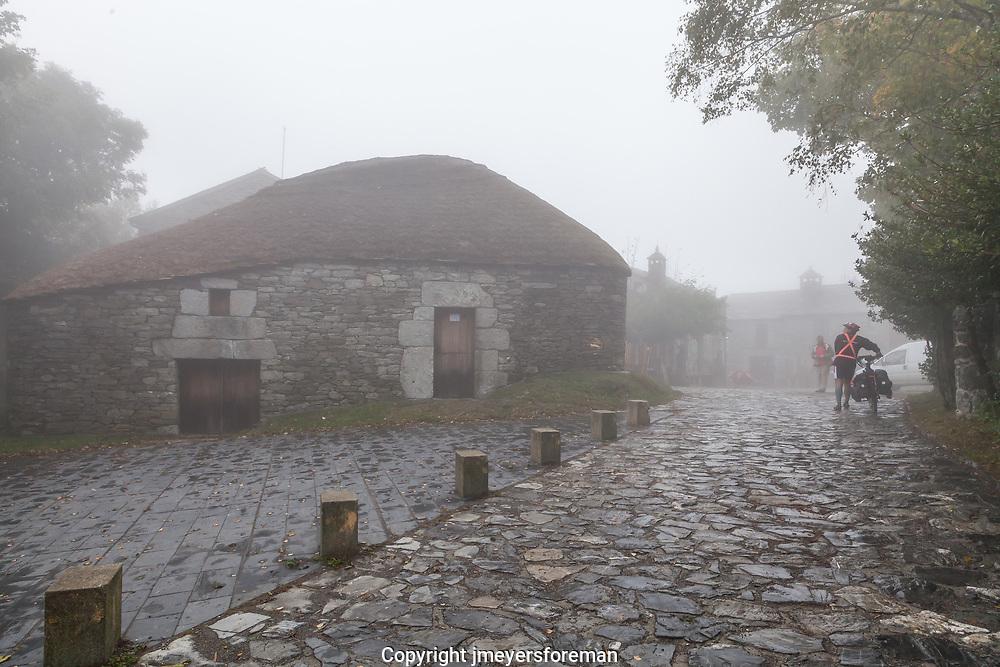 historic O'Cebreiro Spain and the Pallozas