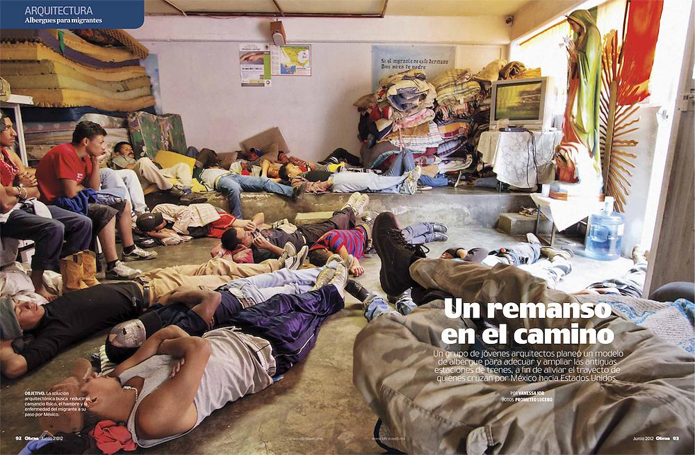 """""""Un remanso en el camino"""", feature in Obras magazine"""