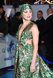 Amber Heard attending the Aquaman premiere held at Cineworld in Leicester Square, London on November 26, 2018. Photo credit should read: Doug Peters/EMPICS