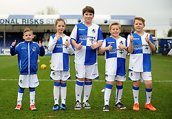 Mascots - Mandatory by-line: Neil Brookman/JMP - 23/12/2017 - FOOTBALL - Memorial Stadium - Bristol, England - Bristol Rovers v Doncaster Rovers - Sky Bet League One