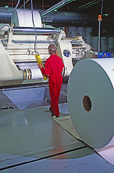 Dry End Paper Rolls Operators, Paper Mill