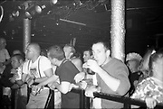 Crowd, Gig, UK, 1980s.