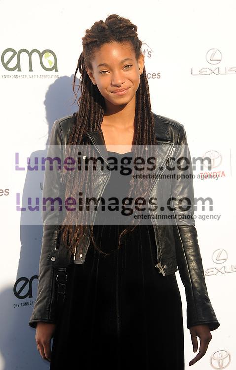 Willow Smith at the Environmental Media Association's 27th Annual EMA Awards held at the Barker Hangar in Santa Monica, USA on September 23, 2017.