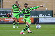 Forest Green Rovers Charlie Cooper(15) during the EFL Sky Bet League 2 match between Forest Green Rovers and Accrington Stanley at the New Lawn, Forest Green, United Kingdom on 30 September 2017. Photo by Shane Healey.