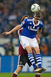 19.11.2011, Veltins Arena, Gelsenkirchen, GER, 1. FBL, FC Schalke 04 vs 1. FC Nuernberg, im Bild Klaas-Jan Huntelaar (#25 Schalke) im Zweikampf // during FC Schalke 04 vs. 1. FC Nuernberg at Veltins Arena, Gelsenkirchen, GER, 2011-11-19. EXPA Pictures © 2011, PhotoCredit: EXPA/ nph/ Kurth..***** ATTENTION - OUT OF GER, CRO *****