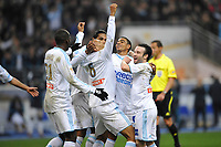 FOOTBALL - FRENCH LEAGUE CUP 2009/2010 - FINAL - OLYMPIQUE MARSEILLE v GIRONDINS BORDEAUX - 28/03/2010 - PHOTO GUY JEFFROY / DPPI - JOY OM