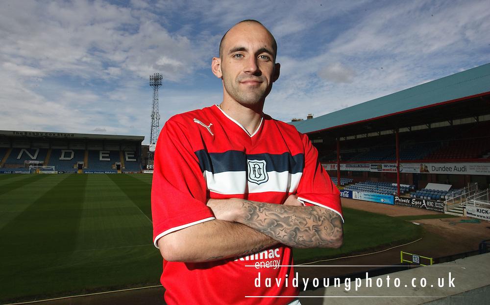 Dundee FC new boy Mark Stewart.. - © David Young - 5 Foundry Place - Monifieth - DD5 4BB - Telephone 07765 252616 - email: davidyoungphoto@gmail.com - web: www.davidyoungphoto.co.uk