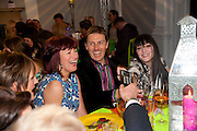 JANET STREET-PORTER; JONATHAN TYLER; ANNABELLE NEILSON, The ICA's Psychedelica Gala Fundraising party. Institute of Contemporary Arts. The Mall. London. 29 March 2011. -DO NOT ARCHIVE-© Copyright Photograph by Dafydd Jones. 248 Clapham Rd. London SW9 0PZ. Tel 0207 820 0771. www.dafjones.com.