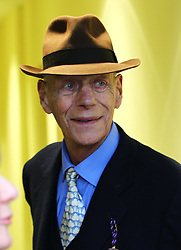 Sir Henry Cecil, 10-time champion trainer, has died at the age of 70.<br /> Responsible for 25 British Classic winners, Cecil was also the leading handler at Royal Ascot with a record 75 successes.<br /> Sir Henry Cecil after Frankel had won his last race the Qipco Champion Stakes at Ascot. 20/10/2012.<br /> Photo by: Racingfotos.com / i-Images.