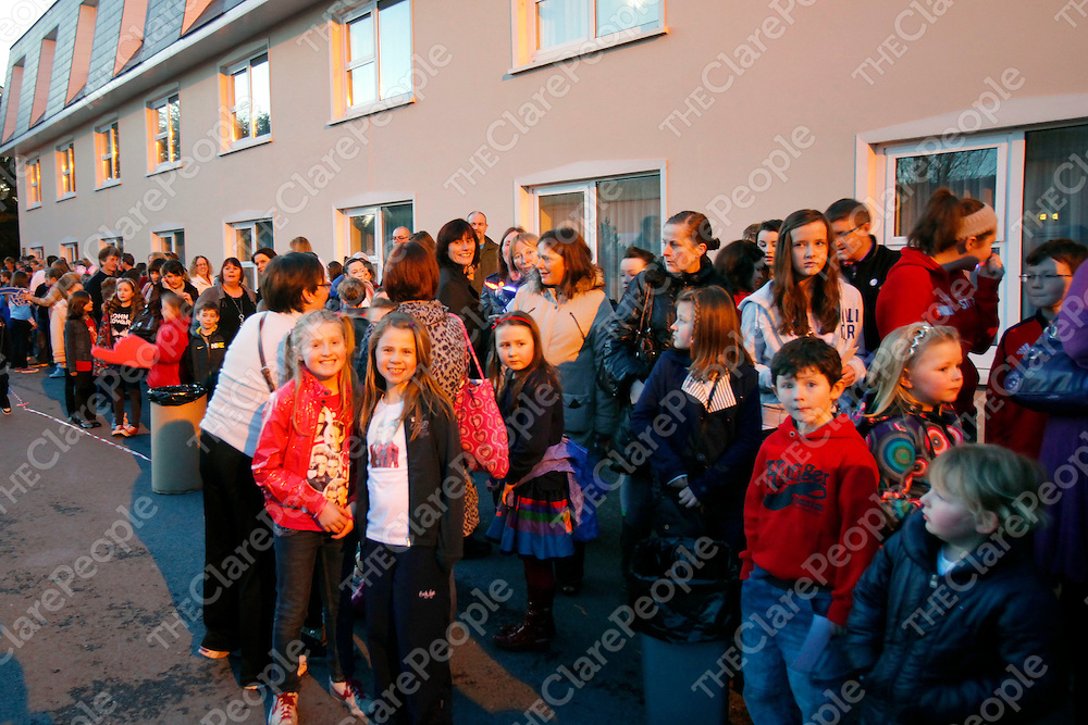11/02/12<br /> Some of the large crowd pictured at the Jedward Concert which took place at the west County Hotel, Ennis, Limerick on Saturday evening.<br /> Picture: Don Moloney / Press 22