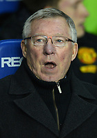 Football - Barclays Premier League - Reading vs. Manchester United<br /> Sir Alex Ferguson Manager of Manchester United at the Madejski Stadium, Reading