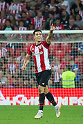 Yuri of Athletic Club celebrating a goal during the Spanish Championship La Liga match played in San Mames Stadium between Athletic Club and SD Huesca in Bilbao, Spain, at August 27th, 2018, Photo UGS / SpainProSportsImages / DPPI / ProSportsImages / DPPI