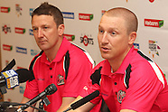 CLT20 - Sydney Sixers Press Conference 10th October