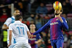 December 17, 2017 - Barcelona, Catalonia, Spain - Andre Gomes during the La Liga match between FC Barcelona v Real Club Deportivo de La Coruna, in Barcelona, on December 17, 2017. (Credit Image: © Joan Valls/NurPhoto via ZUMA Press)