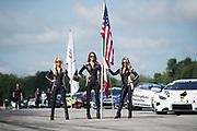 August 17-19 2018: Lamborghini Super Trofeo: Virginia International Raceway. Lamborghini grid girls