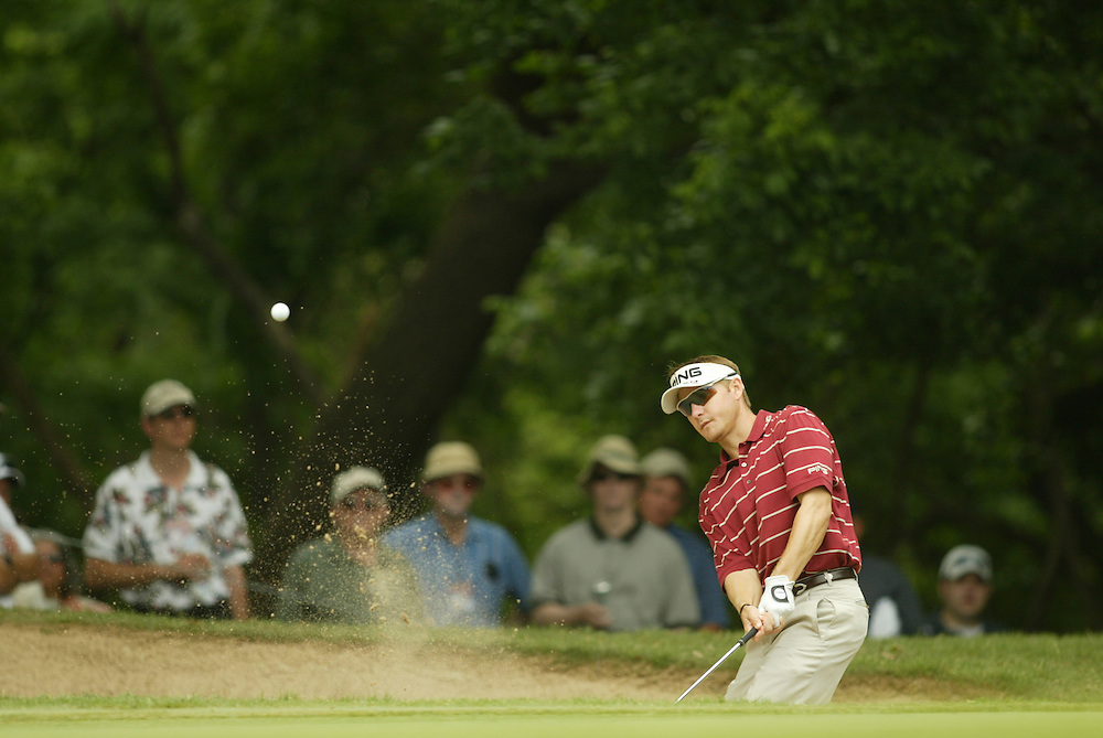 Heath Slocum..2003 Colonial Invitational..Second Round..Colonial Country Club.Fort Worth, TX..May 23, 2003..Photograph by Darren Carroll
