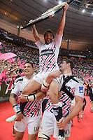 Jerome FILLOL / Raphael LAKAFIA  - 16.05.2015 - Clermont / Stade Francais - Finale Top 14<br />Photo : Nolwenn Le Gouic / Icon Sport